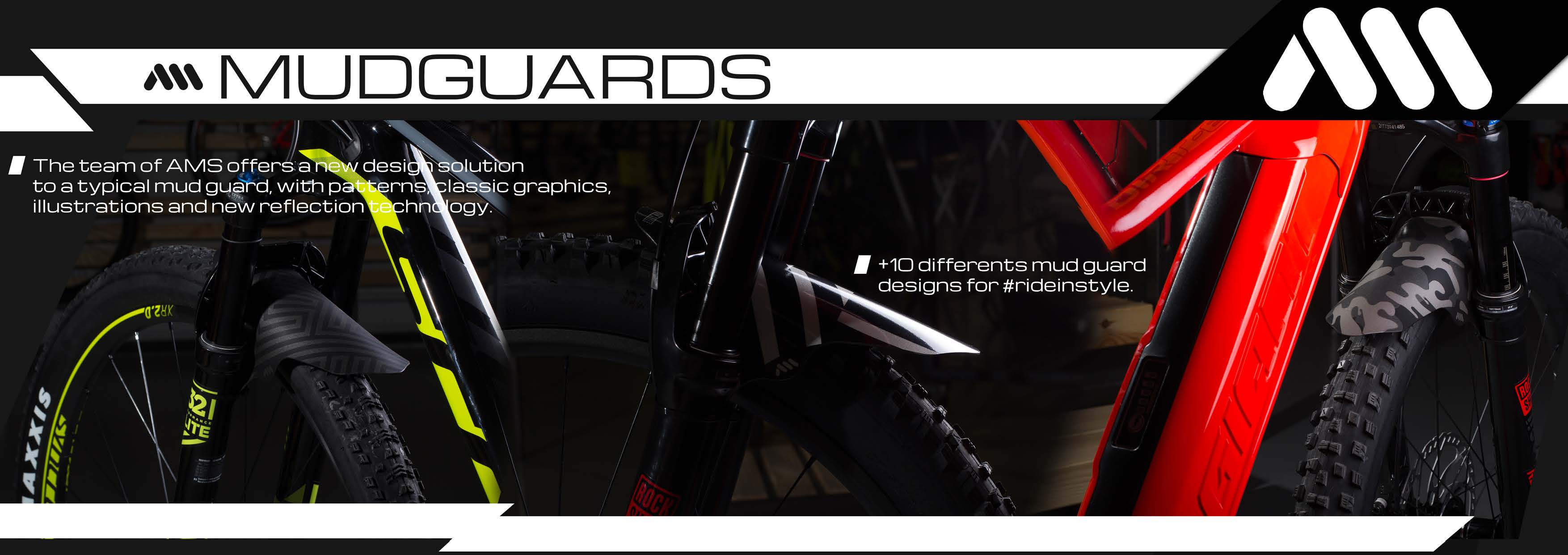 All Mountain Style Mudguards